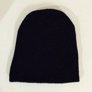 BLACK BEANIE BACKSIDE